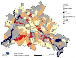 Bezirksregion Bevölkerungsentwicklung 2006 bis 2010